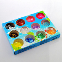 Wholesale Nail Foils Glitter - 12 Colors Nail Glitter Ice Mylar Shell Foil Paper Nail Art Decoration Tools tools and parts direct