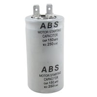 Wholesale Motor Start Capacitors - Wholesale-SZS Hot ABS Series 150MFD 150UF 250V AC Motor Starting Capacitor