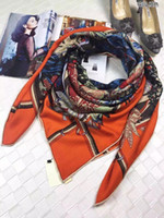 Wholesale Scarves Packaging - HAMA- Original package New arrived Top Grade Cashmere Scarf, Garden cashmere scraf, Luxury Square Scarves Shawl 140cm