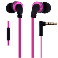 Wholesale awei cable - New Portable Super Bass Earphone Awei ES i Noise Isolation In ear Earphone With m Cable Mic For Smartphone Tablet PC