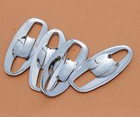 Wholesale Car Door Handle Parts - ABS Chrome Car Door handle Cover Bowl For Nissan X-Trail Rogue 2014 2015 2016 Car Styling Auto Part 8pcs per set