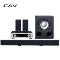 Atacado - CAV Home Theater System 5.1 Bluetooth Soundbar Subwoofer Smart Multi 5.1-Channel Metal DTS Surround Dolby Digital Home Theater