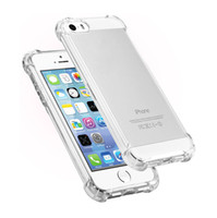 Wholesale Dhl Clear Iphone Case - Wholesale clear back cover TPU led case light calling flashing cell phone cases cover for IP 5 6 7 7plus with 5 colors DHL free