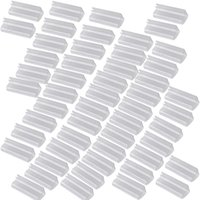 50pcs / Lot Jupe de table en plastique Clips Desk Cover Clamps de tissu Nappe pique-nique Jupe Clamp Wedding Party Fournitures de banquet