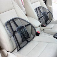Wholesale Mesh Back Support Seat - Car Covers Mesh Lumbar Back Brace Support Office Home Car Seat Cushion Car styling Car Seat Back Support