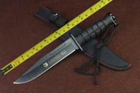 sabit bıçak avı bıçağı bowie toptan satış-ÜCRETSIZ KARGO Yeni 12