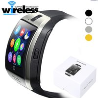 Vendita calda Bluetooth Smart Watch Apro Q18 Sport Mini fotocamera per Android IOS iPhone Samsung SmartPhones GSM SIM Card Touch Screen
