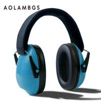 Wholesale Baby Earphones - Children Foldable Headphones Ear Protectors Headset Portable Earphone Hearing Protection Soundproof Ear Muff Anti-noise for kids baby