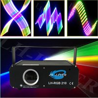 Wholesale Ishow Laser Software - LH-RGB210 auto laser lighting  laser logo projector lights with sd card and free ishow software inside