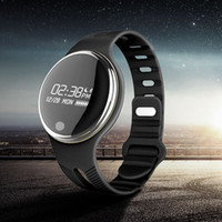 IP67 imperméable à l'eau Bluetooth Smartwatch Watch Smart Bracelet Watch GPS Tracker Montres pour iPhone 5 5SE 6 6S plus Samsung S6 E07 OTH288