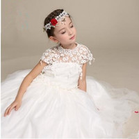 Wholesale Dress Older Girl - Ivory Cream Flower Girl Dress with First Communion Dress | Tulle Dress | Toddler Dresses or older wholesale spring