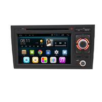 fita de dvd para carros venda por atacado-Android 6.0 Sistema Duplo Din DVD Do Carro Para Audi A6 1998 * 2005 Gravador GPS RDS WI-FI 3G OBD DVR Telefone Espelho da Tela da agenda BT USB SD RCA