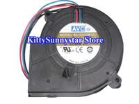 avc 12v dc fan großhandel-AVC 10CM 9733 BA10033B12U 12V 2.4A 3Wire Gleichstromgebläse für Stromserver