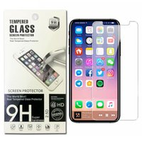 Wholesale Good Screen Protectors - For iPhone X 8 7 6s Plus Tempered Glass Screen Protector Good Quality For Galaxy J7 prime S7 C9 pro J3 J5 2017 0.26mm 2.5D 9H Anti-shatter