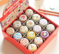 Wholesale Jewelry storage box Tin Box portable pills boxes Portable Coin Purse rings necklace box a set with gift bag