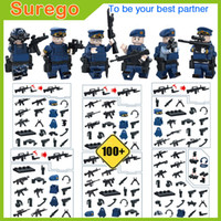 Wholesale Air Force Toys - Newest Military Building Blocks Toys Air Force Army Soldiers Troops Mini Action Figure Model Assembly Bricks with Weapons