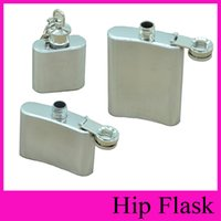 Wholesale 2016 HOT Search Hip Flasks oz oz oz Stainless Steel Hip Flask Portable Flagon Ounce Outdoor Whisky Stoup Wine Pot Alcohol Bottles