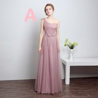 Wholesale Cocktail Long Dress For Bridesmaid - Free shipping Fashion Long Prom Dresses Bride dress Bridesmaid girl women Homecoming Dress for pary Club Stage Cocktail Dress