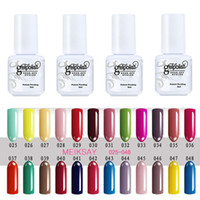 Wholesale Cute Nail Polish Colors - Cute 5ml UV Gel Nail Polish Gel Polish 120 Colors Popular Nice Soak Off Gels For Nails Gelpolish Manicure Decoration