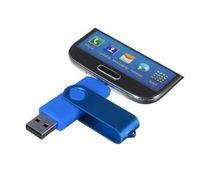 memória do saco venda por atacado-2016 100% Novo 128 GB de 256 GB OTG On the Go Pendrive Pendrive Armazenamento Externo Memory Stick USB Flash Drive em saco de OPP DHL