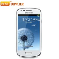 "Wholesale Galaxy S3 Backs - 2016 Top Fashion Original Samsung I8190 Galaxy S3 Mini Phone Dual-core 4.0""touch 5mp Camera 8gb Rom Wifi Gps Unlocked Cell phone"