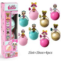 Brand New LOL SURPRISE DOLL с упаковкой Dolls Dress Up Toys baby Tear open change egg dolls Рождественский подарок L124