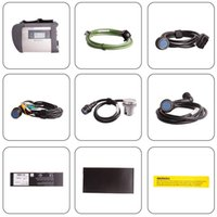 Wholesale Mercedes Star Sd Connect - New MB Star Compact 4 full set with wifi support Multi-anguages SD Connect C4 For Mercedes Benz Diagnostic good quality DHL Fast Shipping