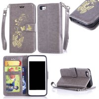 Wholesale I Phone 5c Cases Black - For Apple iPhone 5C Case Duplex Luxury Painting TPU Back Box Stand Wallet Slot Magnetic Flip Phone Leather Case For i Phone 5C
