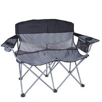 Wholesale Apex Double Arm Chair Black Silver
