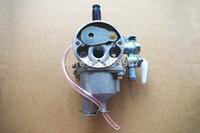 Wholesale Blower Carburetor - Carburetor float type for Kawasaki TD33 TD40 TD43 TD48 CG400 free shipping brush cutter carb weedeater blower OEM P N 15001.2525