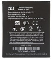 Wholesale Thl Batteries - Good quality Mobile Phone Battery BL-06 BL06 BL 06 For THL T6 T6S Pro T6C Replacement Batteries High Capacity 2250mAh DHL fast delivery
