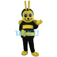 Wholesale Bee Costumes For Adults - Bee Adult Mascot Costume For Festival Party free shipping