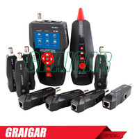 Wholesale Poe Lan - Orginal Noyafa NF-8601W POE PING Ethernet tester RJ11,RJ45 ,BNC Network Lan Cable Length Tester Tracker