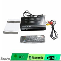 Wholesale Tuner Box For Tv - For Brazil Central South America ISDB-T Digital TV Satellite Receiver HD 1080P TV Plus Box MPEG4 HDMI USB PVR Remote Set Top Box