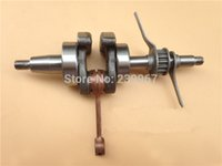 Wholesale forge fitting - Crankshaft forging steel fit Honda GX35 free shipping crank shaft replacement part
