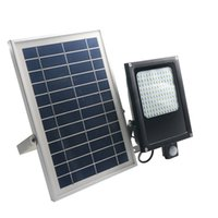 Wholesale solar panel for lighting for sale - 120 LEDs SMD LED Solar Light V W Solar Panel Motion Sensor LED Floodlight for Indoor Outdoor garden light wall lamp