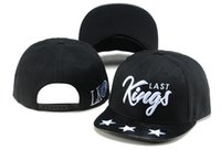 Wholesale Cap Carton - 2017 HOT Sale Last Kings Snapback Caps Hip Hop Cap LK Hat Baseball Hats For Men Casquette Bone Bones Gorras Carton Packaging Kings Caps