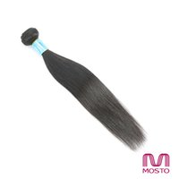 Wholesale Virgin Peruvian Hair 3pc - 3pc Brazilian Virgin Silky Straight Human Hair Weaves Hair Extensions Indian Peruvian Malaysian human hair bundles Best Quality MOSTO