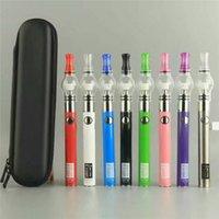 Wholesale E Cigarette V - UGO V II Full Starter Kit E Cigarette Kits 650mah 900mAh Dry Herb Vaporizer UGO-V V2 Battery With Globe Glass Tank Vape Pen