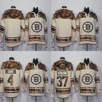 Wholesale Hoodie Styles Men - 2016 New Style Boston Bruins Hoodies Sweatshirts Men's Blank 4 Bobby Orr 37 Patrice Bergeron 100% Stitched Embroidery Logos Hockey Jerseys