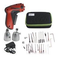 Wholesale Electric Klom Pick Tools - KLOM Cordless Electric Lock Pick Gun Auto Pick Guns Lockpicking Locksmith Tools