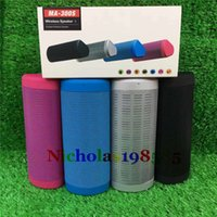 Wholesale Pa Audio Speakers - MA-300S Mini Wireless Bluetooth Portable Speaker Support 3.5mm AUX Line Handsfree TF Card For Phone PC Tablet PA PK MA-100S MA-200S V318 X70