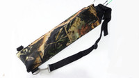 Wholesale Archery Bow Holder - Camo hunting bag Outdoor Archery Bow Arrow Holder Archery Quiver Bag bow arrow bag