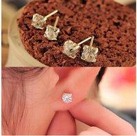 Wholesale Lulu Jewelry Wholesale - Wholesale-ED448 Hot New Korean delicate sparkling star Lulu earrings earrings jewelry SHK star with money