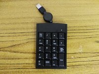 Nützliche USB Wired Numeric Keypad Numpad Nummer 18 Tasten Pad für Laptop Desktop PC Notebook Kompatibel mit für Windows ME 2000 XP