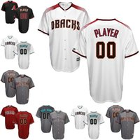 baseball men short free shippingcustom arizona diamondbacks jerseys white grey red black custom maje