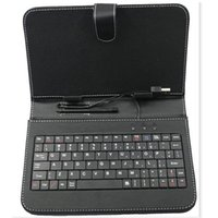 Wholesale New Pc Keyboards - NEW 10 inch Leather Keyboard Stand Case For 10 inch 10.1 inch Tablet PC Phablet 3G Tablet PC with free shipping