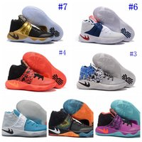 Mid Cut original basketball teams - 2016 womens kyrie irving gold finals PE basketball shoes Team USA Easter Chirstams Day All Star Sneakers Original Shoes Box