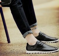 Wholesale New Korean Sneakers - designer shoes sneakers Korean pu leather fashion sport new casual trainers