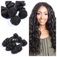 Wholesale Cheapest Body Wave Brazilian Hair - 2017 Hot Selling Cheapest Indian Human Hair 8-30 inch 3pcs lot Wholesale body wave natural color weave wefts G-EASY Hair